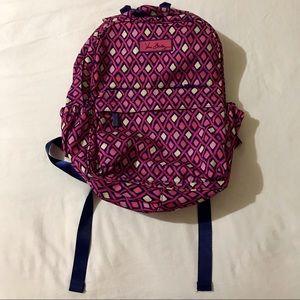 Vera Bradley Katalina pink diamonds backpack